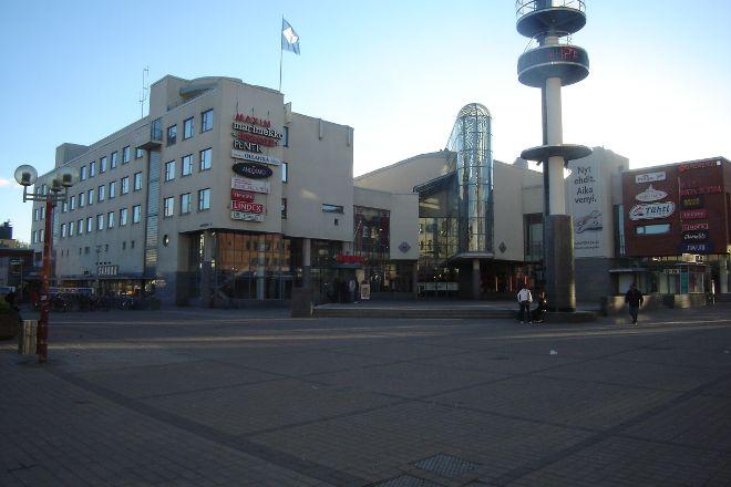 Lordi's Square, Rovaniemi, Finland
