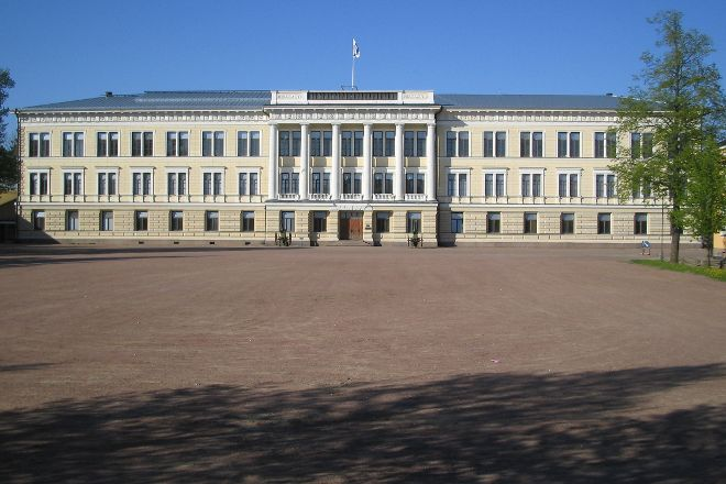 Main Building of Military School, Hamina, Finland