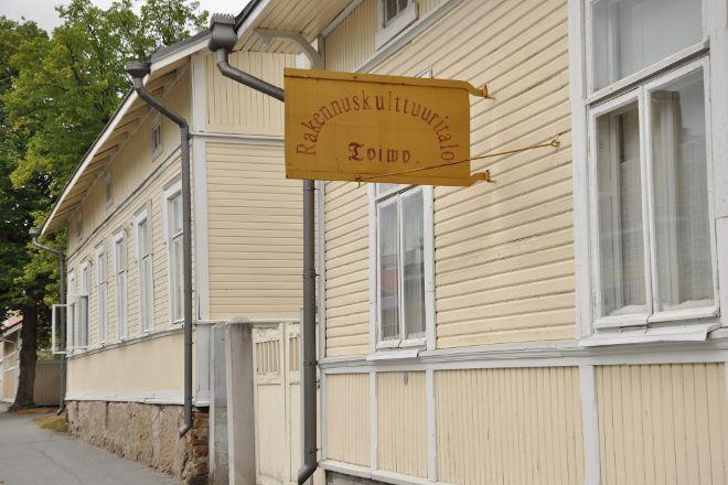 Rakennuskulttuuritalo Toivo Ja Korsmanin Talo, Pori, Finland