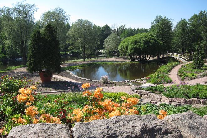 Riverside Park, Kotka, Finland