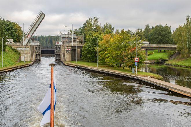 Saimaa Canal, Lappeenranta, Finland