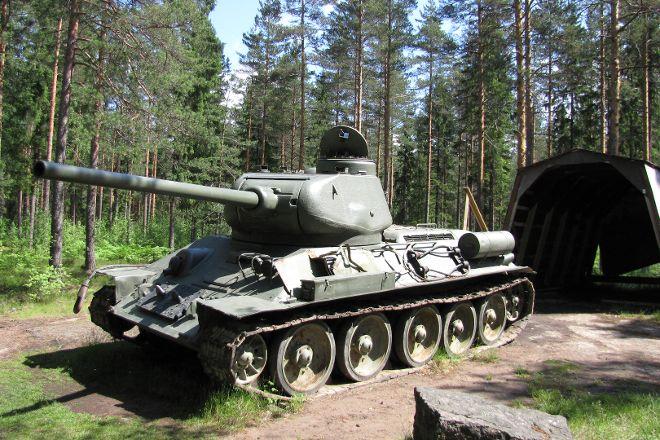 Salpa Line Museum, Miehikkala, Finland