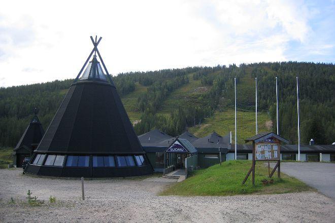 Ski Resort Suomutunturi, Suomu, Finland
