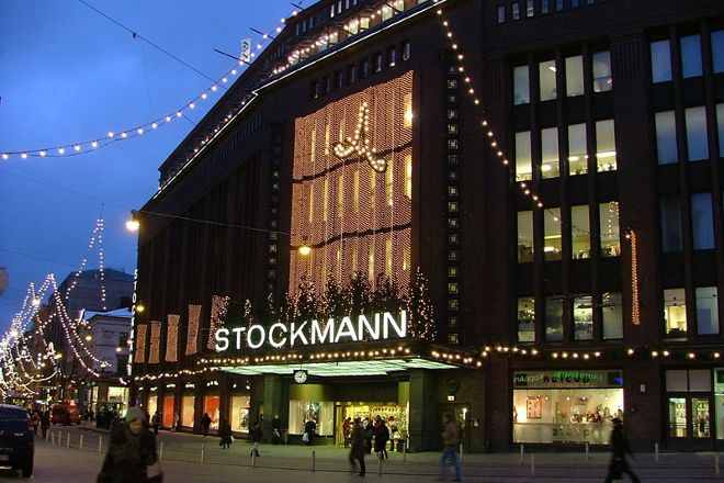 Stockmann Department Store, Helsinki, Finland
