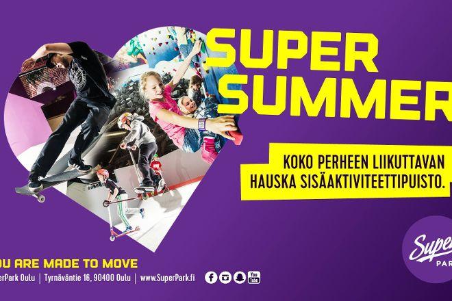 Superpark Oulu, Oulu, Finland