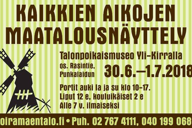 Talonpoikaismuseo Yli-Kirra, Punkalaidun, Finland