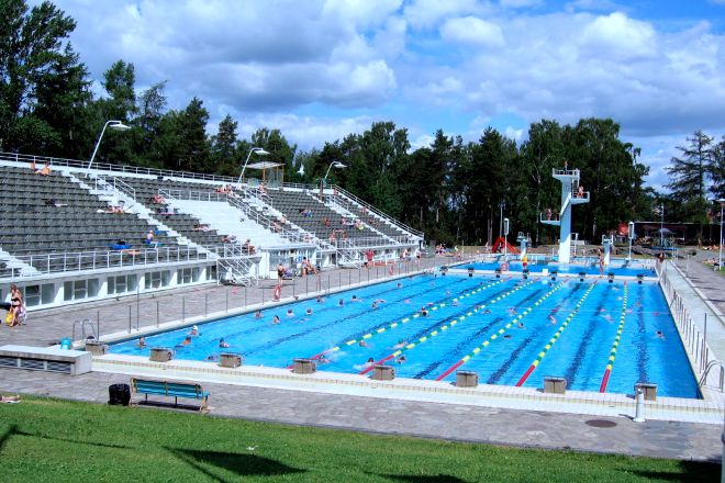 The Swimming Stadium, Helsinki, Finland