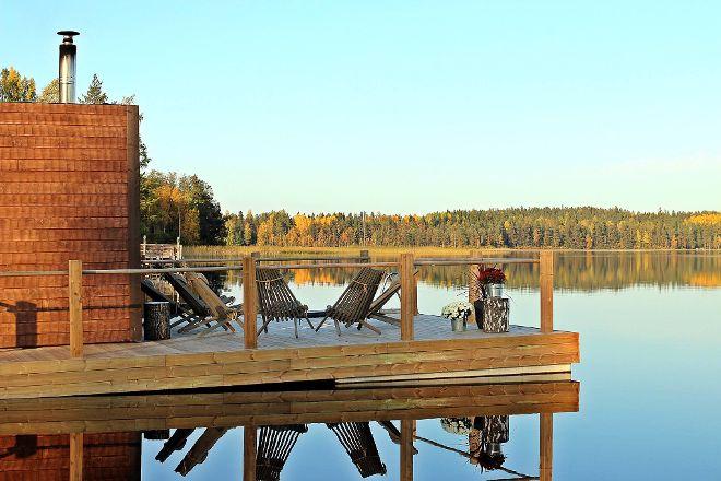 Tykkimaen Sauna, Kouvola, Finland