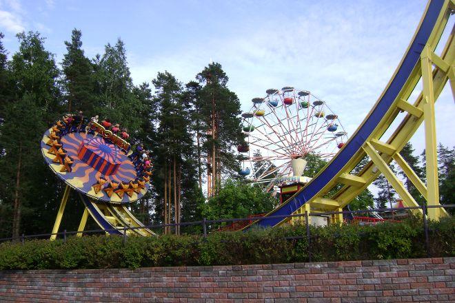 Tykkimaki Amusement Park, Kouvola, Finland