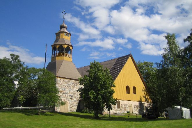 Uusikaupunki Old Church, Uusikaupunki, Finland