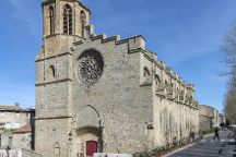 Carcassonne Cathedral, Carcassonne Center, France