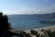 Juan les Pins Main Beach, Juan-les-Pins, France