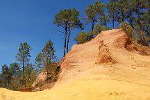 Le Sentier des Ocres, Roussillon, France