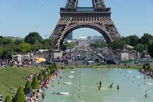 Le Trocadero et son esplanade, Paris, France