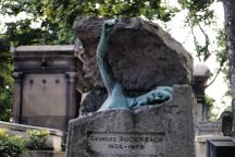 Pere-Lachaise Cemetery, Paris, France