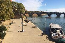 Quai de la Daurade, Toulouse, France