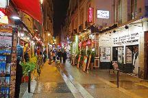 Rue de la Huchette, Paris, France