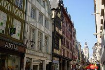 Rue du Gros-Horloge, Rouen, France