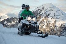 snow panthers motoneige, Macot-la-Plagne, France