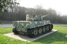 Vimoutiers tiger tank, Vimoutiers, France