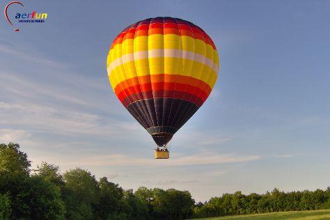 Aerfun Paris balloon, Dourdan, France