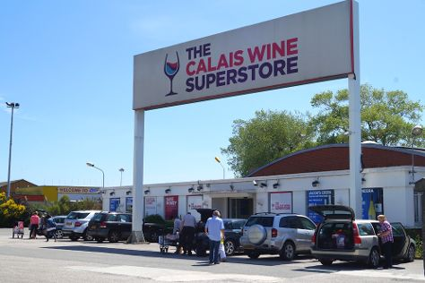 Calais Wine Superstore, Calais, France