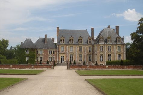 Chateau de La Ferte Saint Aubin, La Ferte-Saint-Aubin, France