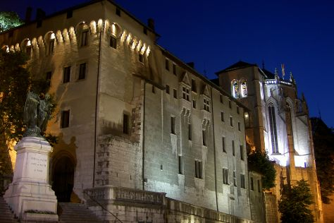 Castle of the Dukes of Savoie, Chambery, France