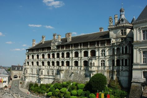 Chateau Royal de Blois, Blois, France