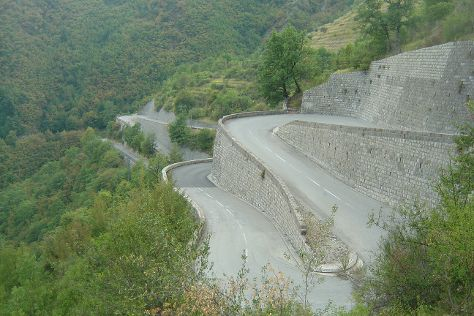 Col de Turini, Lantosque, France