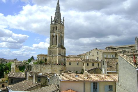 Monolithic Church of Saint-Emilion, Saint-Emilion, France