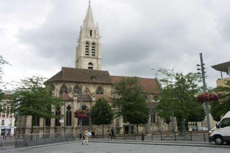 Eglise Saint Germain, Vitry-sur-Seine, France