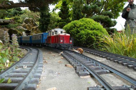 Le Jardin Ferroviaire, Chatte, France