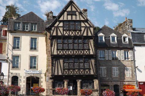Maison dite de la duchesse Anne, Morlaix, France