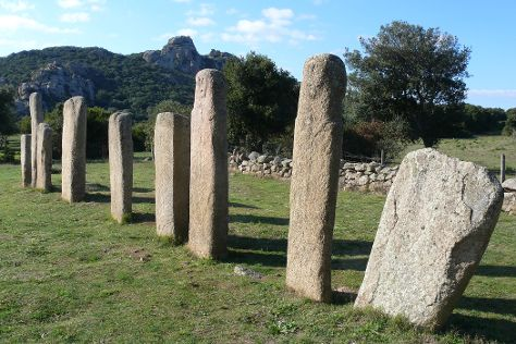 Megaliths of Cauria, Sartene, France