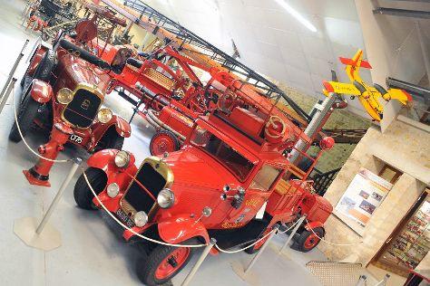 Musee departemental des sapeurs-pompiers du Val d'Oise, Osny, France