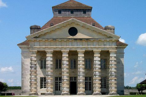 Royal Saltworks of Arc-et-Senans (La Saline Royale), Arc-et-Senans, France