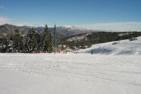 Station de Ski L'Audibergue, Andon, France