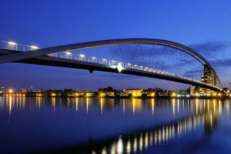 Three Countries Bridge, Huningue, France