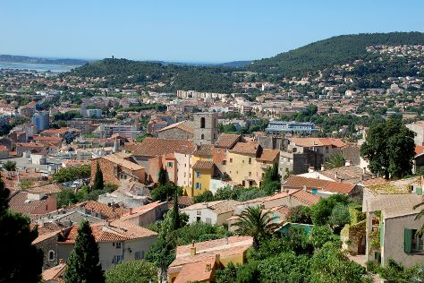 Vieille Ville, Hyeres, France