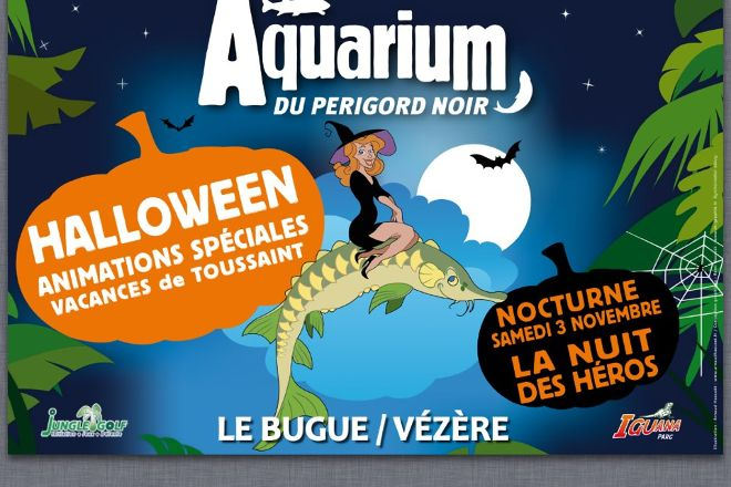 Aquarium du Perigord Noir, Le Bugue, France