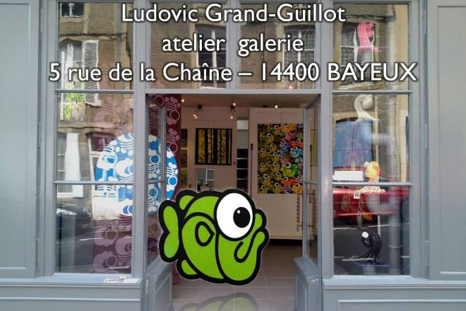Atelier Galerie Ludovic Grand-Guillot, Bayeux, France