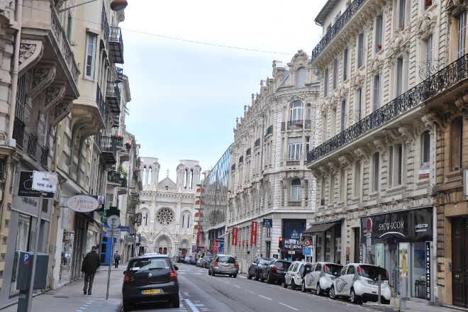 Avenue Jean Medecin, Nice, France