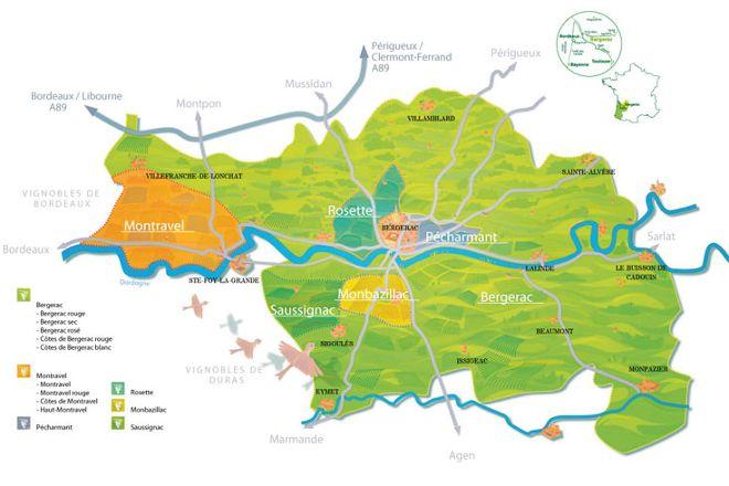 Bergerac Wine Tours, Eymet, France