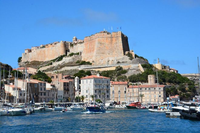 Bonifacio Citadel, Bonifacio, France