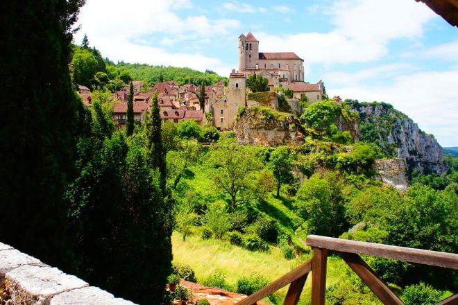 Bourg Medieval de Saint-Cirq Lapopie, Saint-Cirq-Lapopie, France