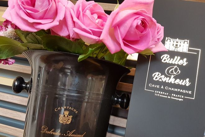 Bulles et Bonheur champagne Elodie D, Epernay, France