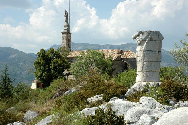 Chapelle Notre Dame du Roc, Castellane, France