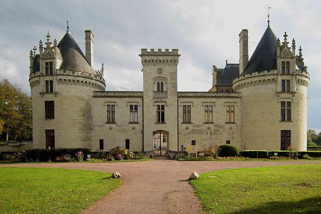 Chateau de Breze, Breze, France