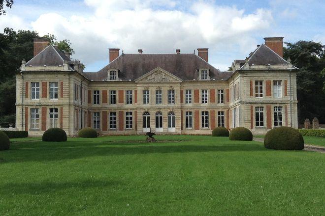 Chateau de Courcelles-sous-Moyencourt, Courcelles-sous-Moyencourt, France